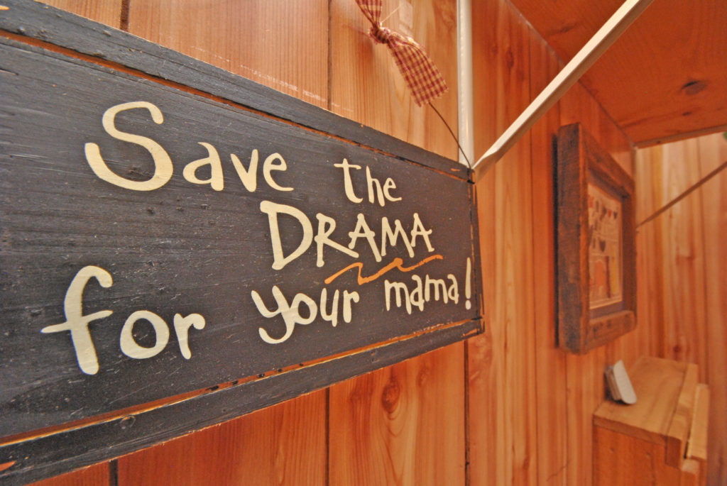 save the drama for your mama cign